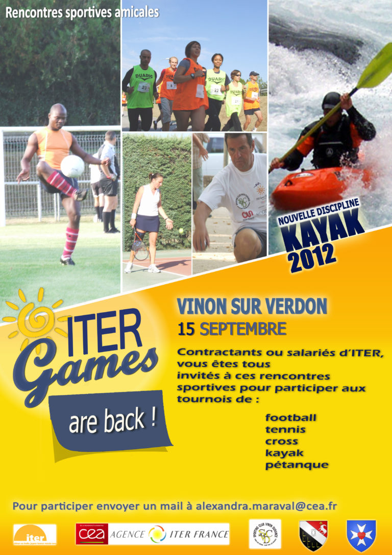 Affiches ITER Games